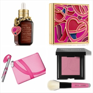 Estée Lauder Pink Ribbon products