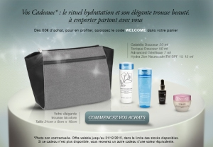 Offre Lancôme Welcome