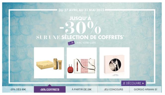 Marionnaud Coffret -30%