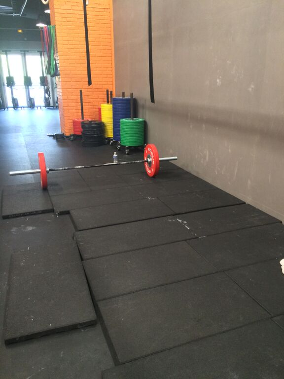 Box CrossFitXIII - Barre chargée