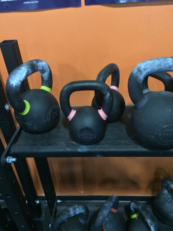 Box CrossFitXIII - Kettle bell