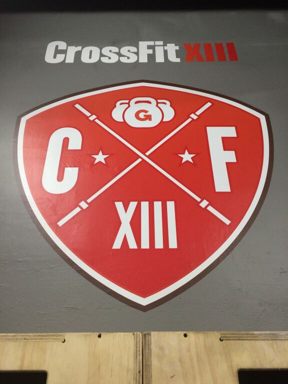 Box CrossFitXIII - Logo