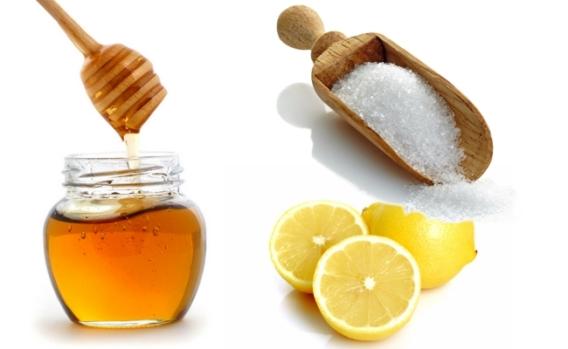 Gommage-miel-sucre-citron