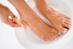 Hygiène-pieds