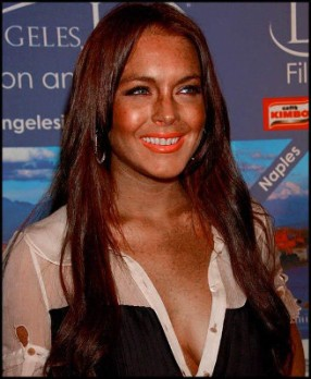 Lindsay-Lohan-Autobronzant